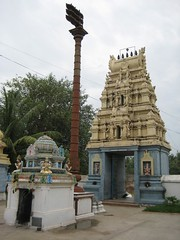 Rajagopuram - From inside