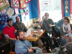 Sharing projects at NH Media Makers (by mrjohnherman)