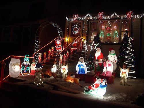 Papa Noel, un Belén, soldaditos de plomo y muñecos de nieve...