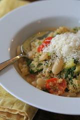 Warm Quinoa and White Bean Salad 3