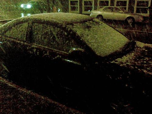 Snow! On Car!
