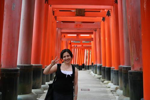 Kristi, Fushimi Inari Taisha, Kyoto