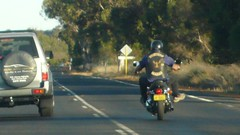 One of 20 bikies from some gang