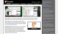 Snackr home page