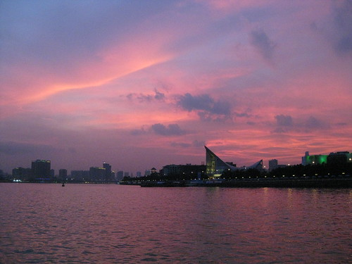 Guangzhou sunset