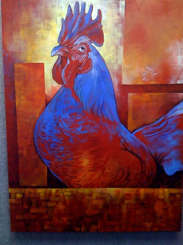 The disapproving rooster