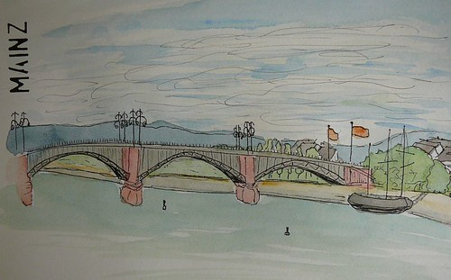 Mainz bridge