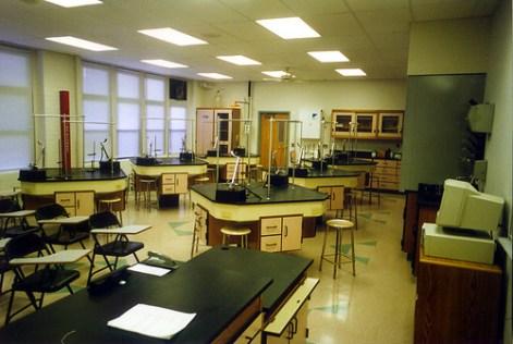Rosati Kain High School Chemistry Lab Classroom