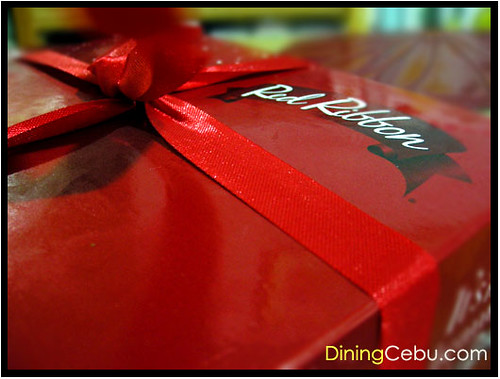 Cebu Food Blog - Red Ribbon Cake