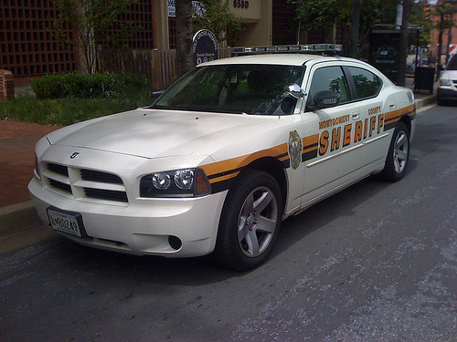 Montgomery County Sheriff Dodge Charger - Taken With An iPhone