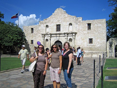 My fellow teachers at the Alamo