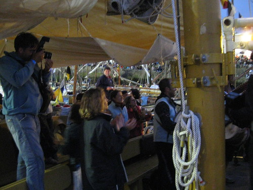Brest 2008 : à bord du Hidria Segundo
