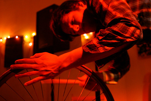 Rory Grubbs bike percussion - The Joy Gallery