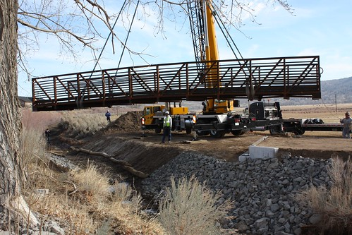 New Bridge on the Mexican Ditch Trail