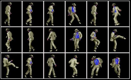 MICHAEL JACKSON MOONWALKER DANCE