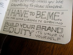 SEED 3 Sketchnotes: Build Your Brand Equity