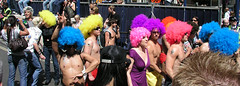 Great wigs, London Pride, 2008