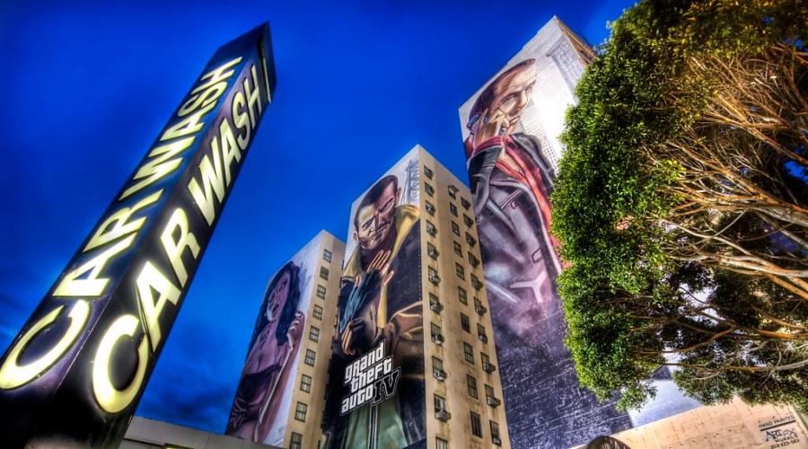 Grand Theft Auto 4 in LA