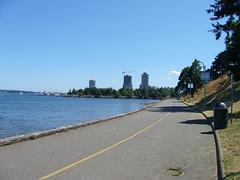 The scenic Nanaimo Seaway