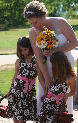 Flowers for the flower girls
