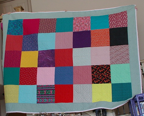 quilt made by my daughter