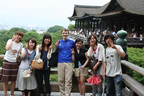 Tour Group, Kiyomizudera, Kyoto