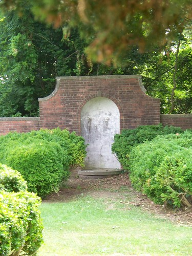 Empty Niche - Formal Walled Garden