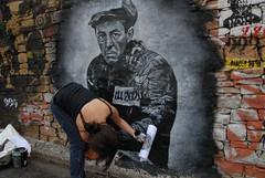 Aleksandr Isayevich Solzhenitsyn, painted port...