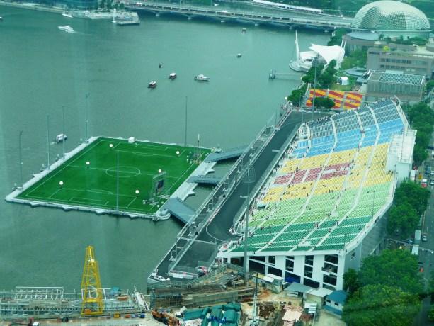 Singapore Formula 1 Bay Grandstand
