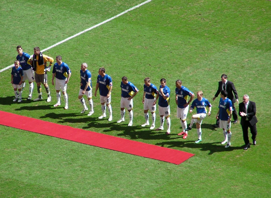 Wembley-Blackpool v Cardiff-Team line up