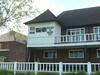 Cricket pavilion at Manchester Grammar school