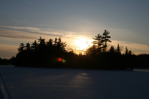 White Pine island