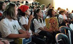 Palestra para alunos do Ensino fundamental