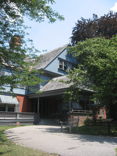 Sagamore Hill Entrance