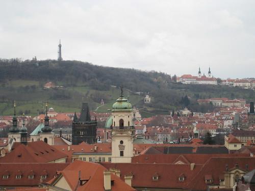 Petřin, Strahov, Staroměstská mostecká věž - Karlův most
