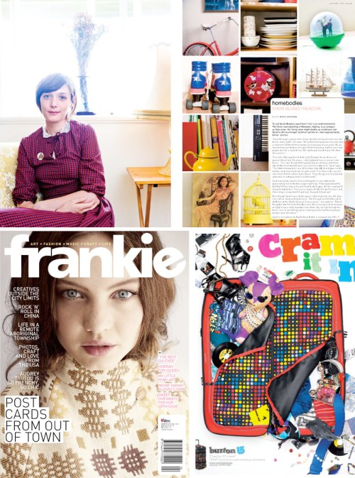 Online Version of Frankie Magazine