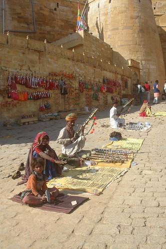 Jaisalmern Fort1-2當地手工藝品