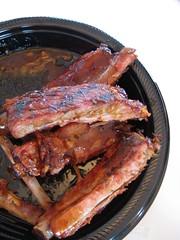 plate 'o' ribs