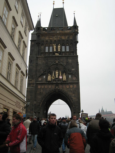 Entrance to Charles Bridge