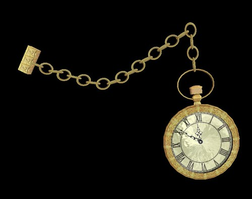 Lord Heathcliff Pocket Watch - Gold Edition
