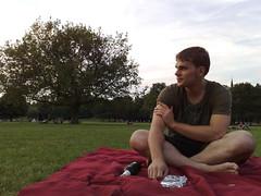 Gucken im Alaunpark