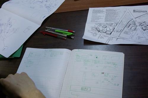 eLiving Campus Paper prototype