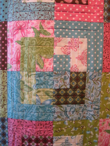 Daydreams quilt front detail