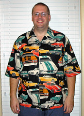 Classic Cars Hawaiian shirts