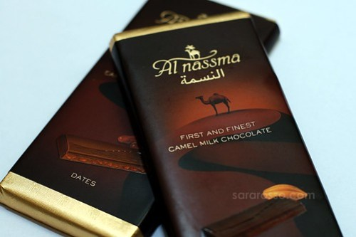 World's First Camel Milk Chocolate by Al Nassma