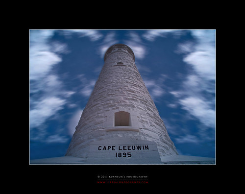 Archives_2005_to_Present #147 - Cape Leuwinn Lighthouse Against the Test of Time by kuantoh