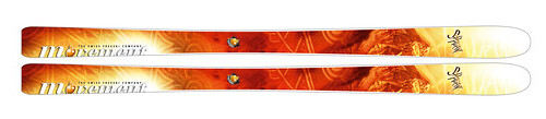 Movement Shaman Skis 2009