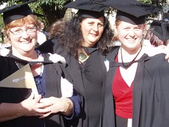 Jo, Diana, and I
