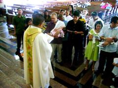 Zoe's baptismal