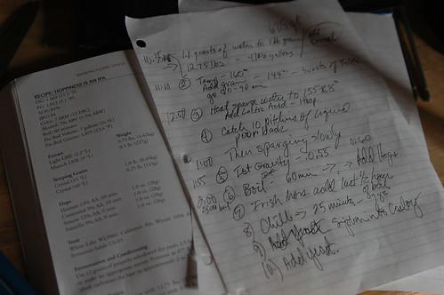 Procedural notes